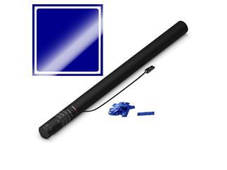 MAGICFX® Elektrische Konfettikanone PRO, 80cm, Blau Metallic