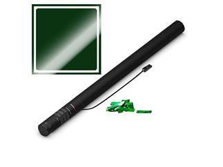 MAGIC FX Elektrische Konfettikanone PRO, 80cm, Grün Metallic