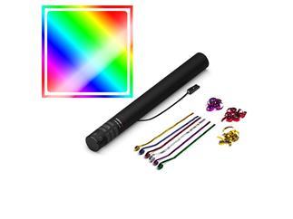 MAGICFX® Elektrische Streamerkanone, 50cm, Multicolour Metallic