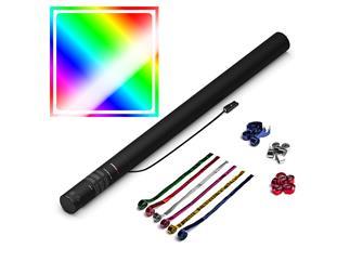 MAGICFX® Elektrische Streamerkanone PRO, 80cm, Multicolour Metallic