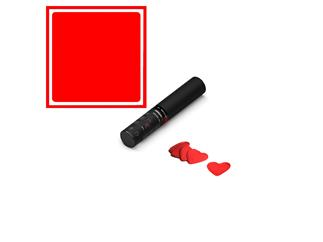 MAGICFX® Konfettikanone Handheld S, 28cm, Rote Herzen