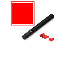 MAGICFX® Konfettikanone Handheld, 50cm, Rote Herzen