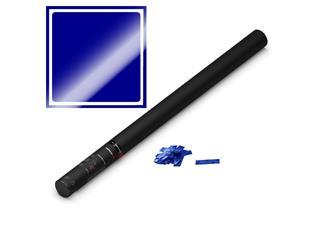 MAGIC FX Konfettikanone Handheld PRO, 80cm, Blau Metallic
