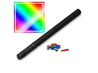 MAGIC FX Konfettikanone Handheld PRO, 80cm, Multicolour Metallic