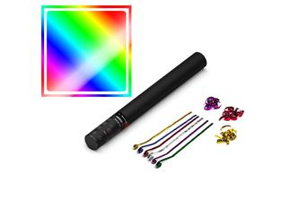 MAGIC FX Streamerkanone Handheld, 50cm, Multicolour Metallic
