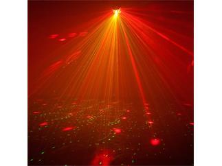 American DJ Mini Dekker LZR ADJ - LED Moonflower + Rot/Grün Laser