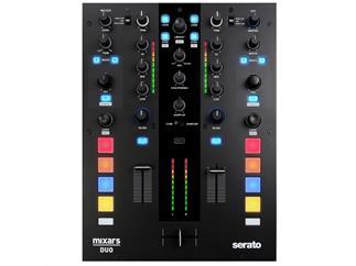 Mixars Duo professioneller 2 Kanal Battlemixer für Serato DJ, inklusive Software