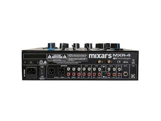 Mixars MXR-4 4 Kanal DJ Mixer mit USB