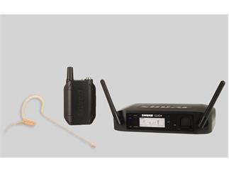 SHURE GLXD14E / MX53 Taschensender mit MX153  Headset digital 2,4 Ghz