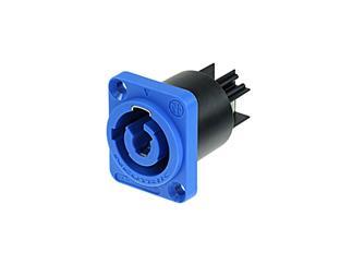 Neutrik Powercon Chassis Input, blau, NAC3MPA1