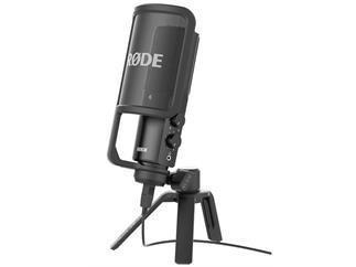 Rode NT-USB inkl Spinne und Pop-Schutz Großmembranmikrofon