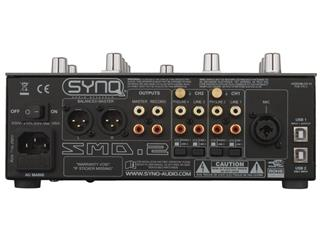 SynQ Audio- SMD-2 Battle-Mixer mit 2 Kanälen