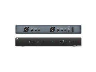 Sennheiser XSW 1-825 DUAL-EWireless Dual Vocal Set. Enthält (2) SKM 825-XSW Handtransmitter mit Stummschaltung