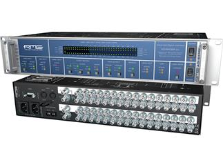 "RME ADI-6432 R BNC, 128-Channel, 192 kHz, MADI <->AES-3id Converter, BNC-Connectors, 75 Ohm, 19"", 2with redundant power supply"