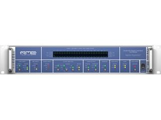 "RME ADI-6432 R, 128-Channel, 192 kHz, MADI <-> AES/EBU Converter, 110 Ohm, 19"", 2 HUwith redundant power supply"
