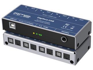 RME Digiface USB, 66-Channel, 192 kHz, USB ADAT Audio Interface