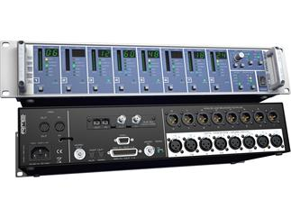 """RME DMC-842, 8-Channel, 192 kHz, AES42 remote controllable Interface for digital Microphones, 19"""", 2(optional i64 MADI Card)"""