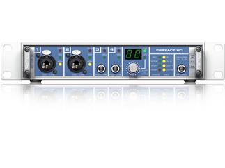 "RME Fireface UC, 36-Channel, 192 kHz, USB Audio Interface, 9.5"", 1 HU"