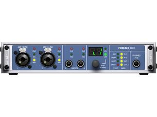 "RME Fireface UCX, 36-Channel, 192 kHz, USB & FireWire Audio Interface, 9.5"", 1 HU"