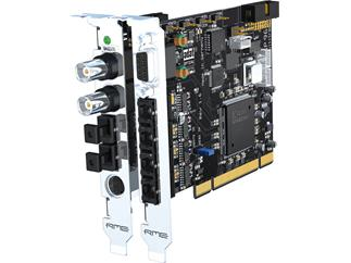 RME HDSP 9652, 52-Channel, 96 kHz, PCI Card with ADAT, SPDIF, Wordclock and MIDI I/O