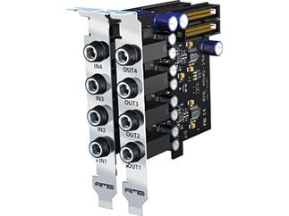 RME AO4S-192 AIO, 4-Channel, 192 kHz, Analog Output Expansion Board for HDSPe AIO and HDSP 9632