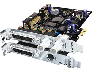 RME HDSPe AES, 32-Channel, 192 kHz, AES/EBU PCI Express Card