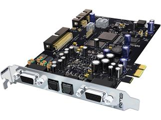 RME HDSPe AIO, 38-Channel, 192 kHz, PCI Express Card with ADAT, SPDIF, AES/EBU, Analog and MIDI I/O