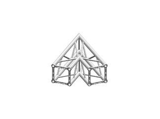 Litec/Manfrotto QX-30 45° 2-Weg Ecke4-Punkt Rohrabstand 29cm
