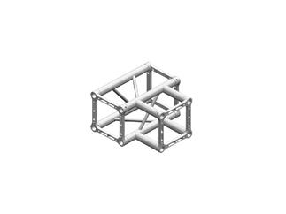 Litec QX30SA T3, 3-Weg T-Stück, 90°, 4-Punkt-Traverse, 25cm, ohne Verbinder
