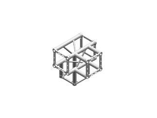 Litec QX30SA T4, 4-Weg T-Stück, 90°, 4-Punkt-Traverse, 25cm, ohne Verbinder