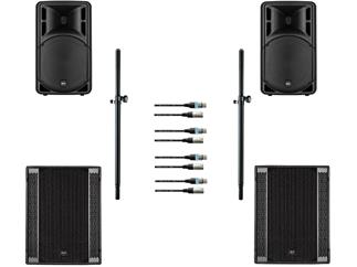 RCF ART315MK4 + RCF SUB708 Bundle inkl Stative und Kabel