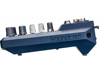 Soundcraft Notepad 5 5 Kanal Mischpult mit USB