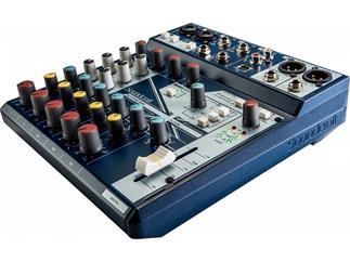 Soundcraft Notepad 8FX  8 Kanal Mischpult mit USB & Effekten
