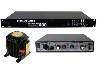 Fischer Amps Shaker Amp 400 Kit 2 (IEA 2 + ShA 400 + BK Concert)