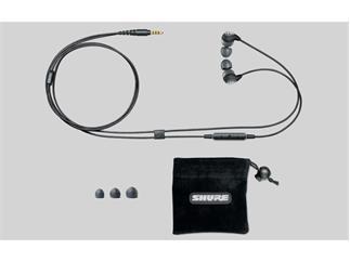 Shure SE112 Sound Isolation Ohrhörer mit Mikro und Fernbedienung für iPhone, iPad, iPod