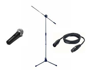 Shure SM58SE Bundle mit Stativ und Kabel