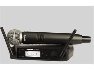 SHURE GLXD24E / SM58  SM58 Handsender digital 2,4 Ghz