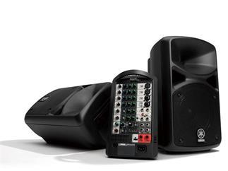 Yamaha STAGEPAS 400i Portables 400-Watt-PA-System mit 8-Kanal-Mixer