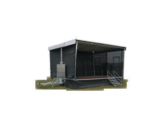 Ultralite Pro Stage IV, 8x6m Bühnentrailer