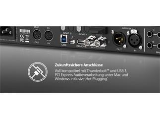 "RME Fireface UFX+, 188-Channel, 192 kHz, USB3 & Thunderbolt Audio Interface, 19"", 1 HU"