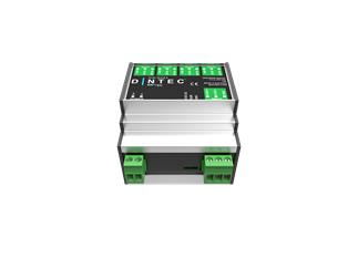 ENTTEC DIN-RDS4, 4-port RDM/DMX Interface für DIN Rail