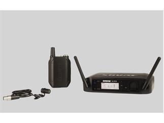 SHURE GLXD14E / 85 Taschensender mit WL185 Lavalier digital 2,4 Ghz