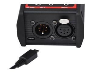 Swisson DMX-Tester XMT120A, MiUSB incl. Nylon Tasche + 2 x XLR-Adapter