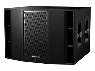"Pioneer XPRS-215 aktiver 2x 15"" Subwoofer"