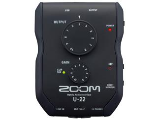 Zoom U 22 Audio Interface