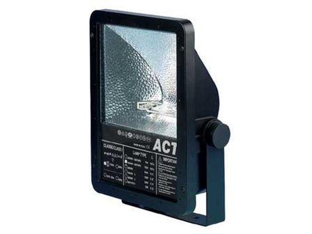 ACT 150W schwarz, Rx7S, asymmetrisch,Gehäuse Aludruckguß, IP 65, VDE