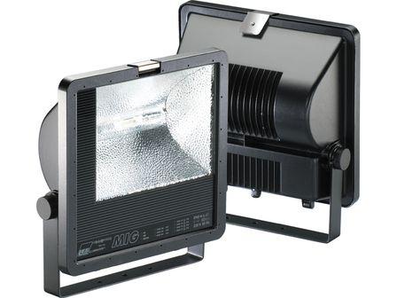 MIG-SM 400 W, E-40, symmetrisch, HIT,Gehäuse Aludruckguß, schwarz, IP 65
