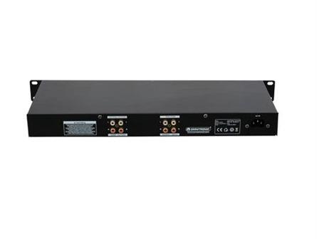 OMNITRONIC ISO-23FX DJ-Isolator 3-Band-Frequenzisolator mit Kill-Funktion und Effektweg