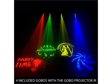 American DJ Gobo Projector IR ADJ - 12Watt White LED