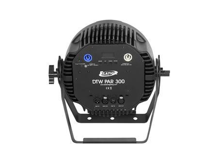 Elation DTW Par 300, Kalt/Warm Weiß + Amber LED Flat Par 16 x 10W